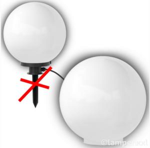 Kugellampe Ersatzkugel