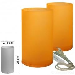 tischleuchte-2er-set-glas-orange-tischlampe-e14-in-zylinder-form-hoehe-25cm