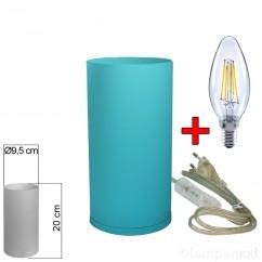 tischleuchte-glas-blau-tischlampe-e14-20cm-mit-led-filament-kerze-2-watt-klar