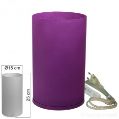tischleuchte-glas-lila-tischlampe-e14-in-zylinder-form-hoehe-25cm_1